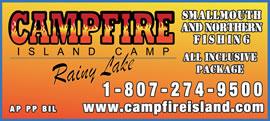 Campfire Island Camp